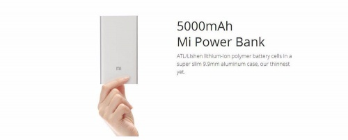 Xiaomi Power Bank 5000 mAh  фото 8