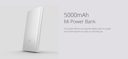Xiaomi Power Bank 5000 mAh  фото 3