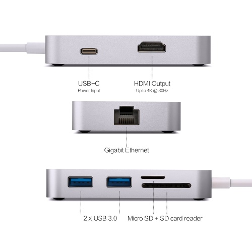 MINIX USB-C-X Multiport адаптер фото 4