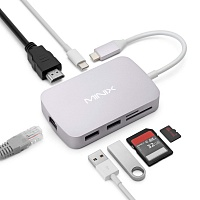 MINIX USB-C-X Multiport адаптер